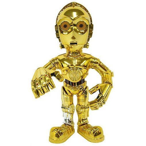 Star Wars Vinyl Collectible Doll Non Scale Pre-Painted Figure: C-3PO