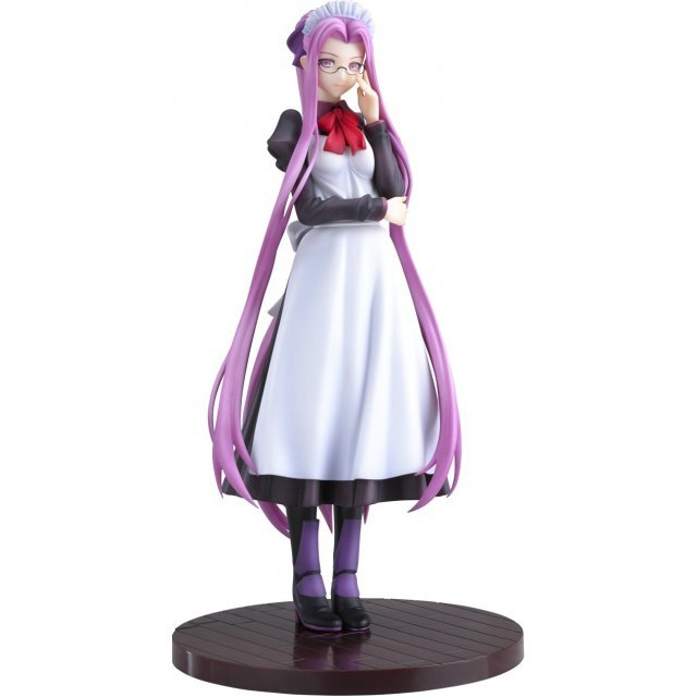 Fate/hollow ataraxia 1/8 Scale Pre-Painted PVC Figure: Rider Delusion/Modest maid Edition