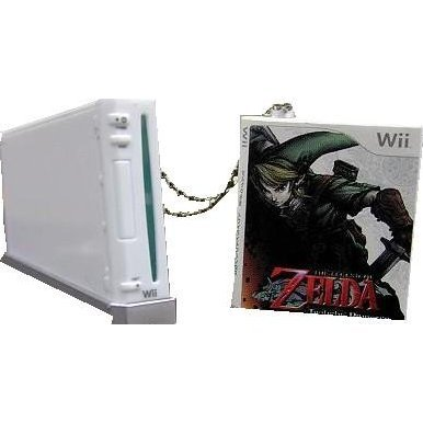 Nintendo Wii Collection Keychain Gashapon