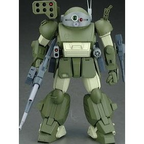 Votoms 1/12 Scale Pre-Painted PVC Figure: Scope Dog Turbo Custom with The Last Red Shoulder Set