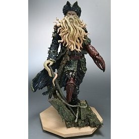 Pirate of Caribbean Non Scale Pre-Painted PVC Figure: Davy Jones