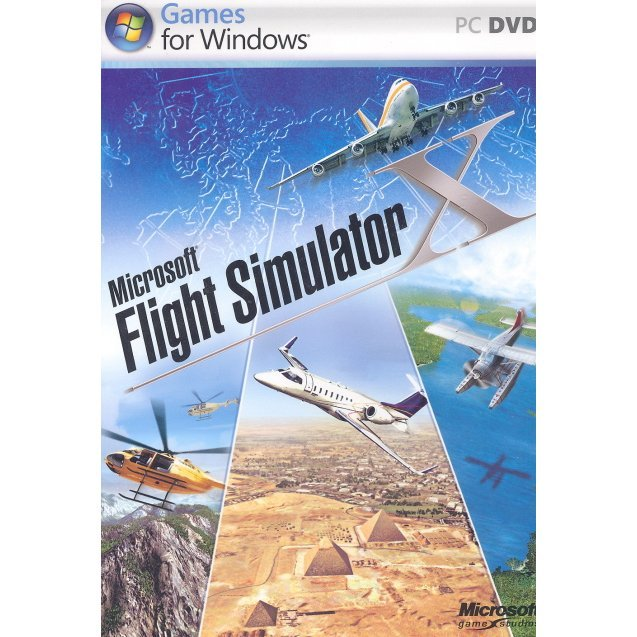 Flight Simulator X (DVD-ROM)