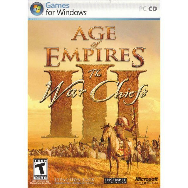 Age of Empires III: The WarChiefs (Chinese language Version)