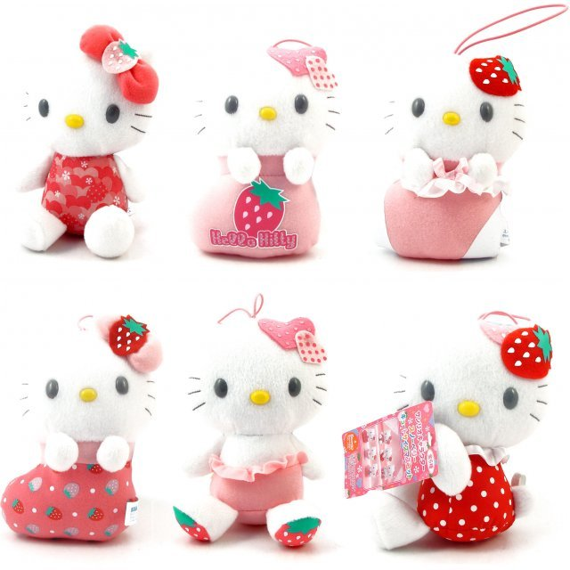 Hello Kitty Christmas Plush Doll