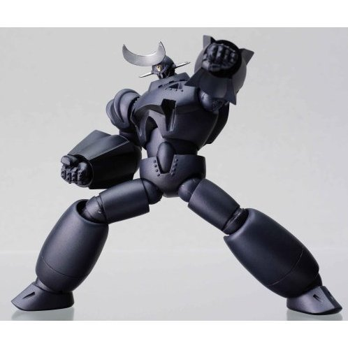 Revoltech Series No. 021 - Giant Robo Non Scale Pre-Painted PVC Figure: GR 2