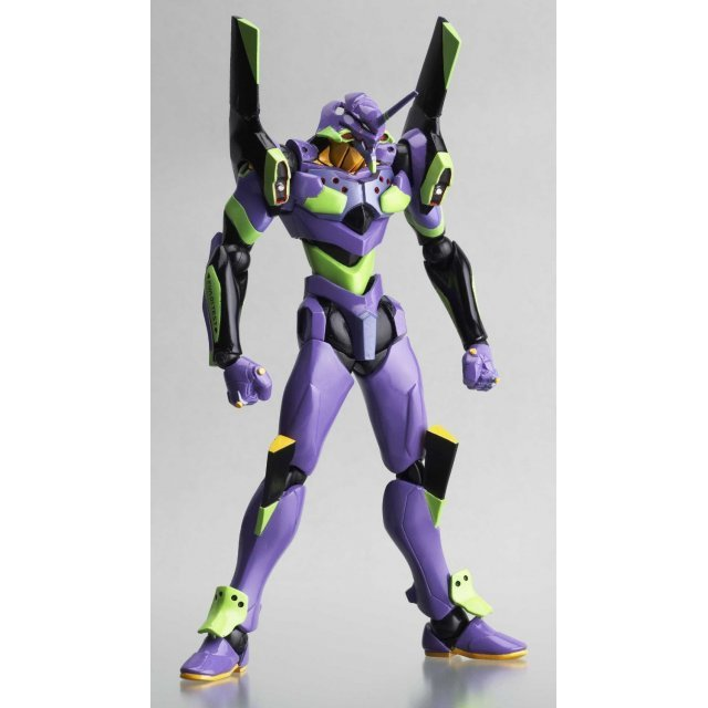 Revoltech Series No. 032 - Neon Genesis Evangelion Non Scale Pre-Painted PVC Figure: EVA Test Type-01 (New Movie Edition)