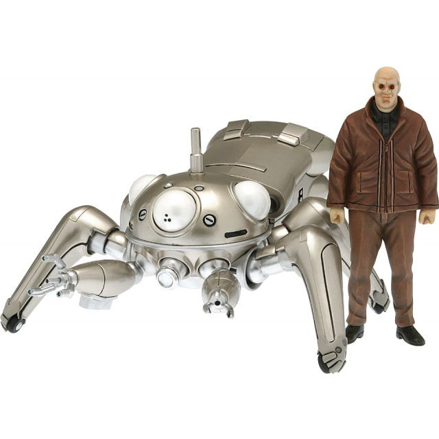 Ghost in the shell 1/24 Scale Pre-Painted Action Figure: TachiSilver (Metal Finish Version)