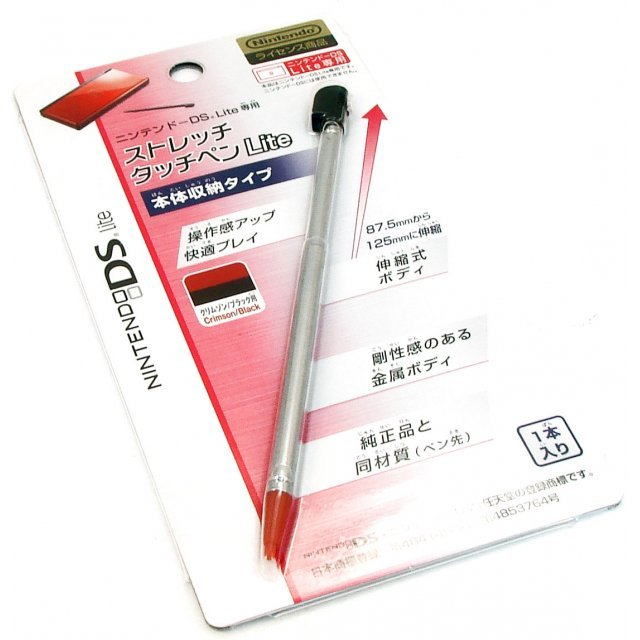 Stretch Touch Pen Lite - Crimson/Black
