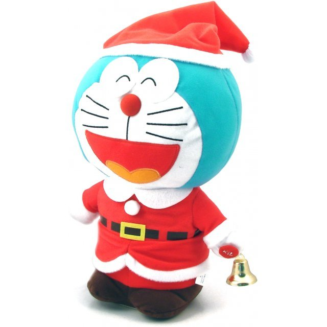 Doraemon Dancing Christmas Plush (Open Mouth Vers.)