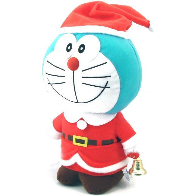 Doraemon Dancing Christmas Plush (Closed Mouth Vers.)