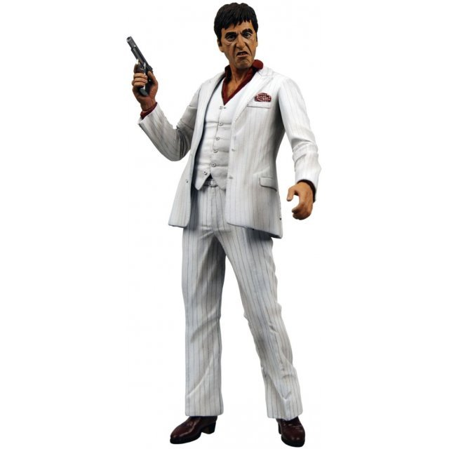 Scarface Series 2 Pre-Painted PVC Action Figure: Al Pacino (with sound) (Re-run)