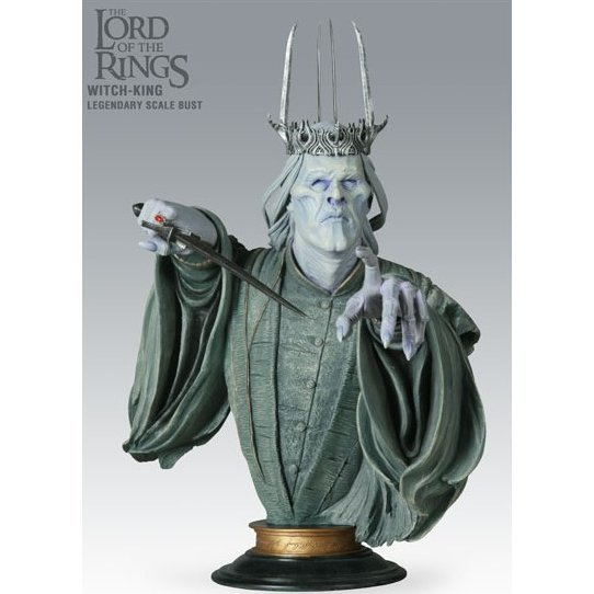 Legendary Scale Bust The Lord of the Rings Pre-Painted Statue: Twilight Witch-King