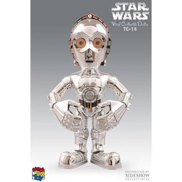 Vinyl Collectible Dolls Star Wars Vinyl Figure: TC-14