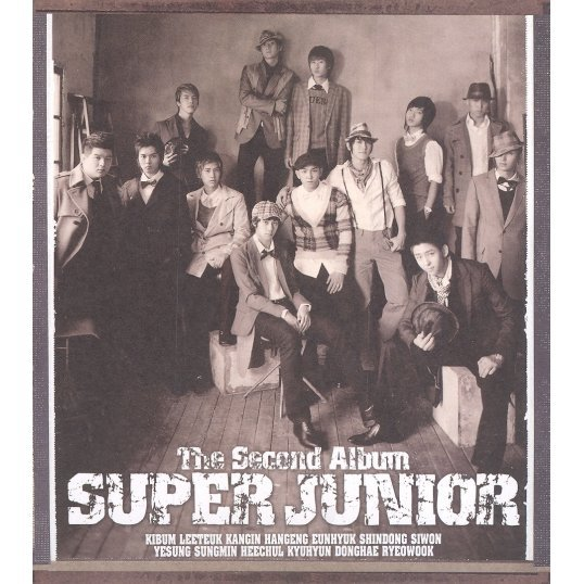 Super Junior The 2nd Album