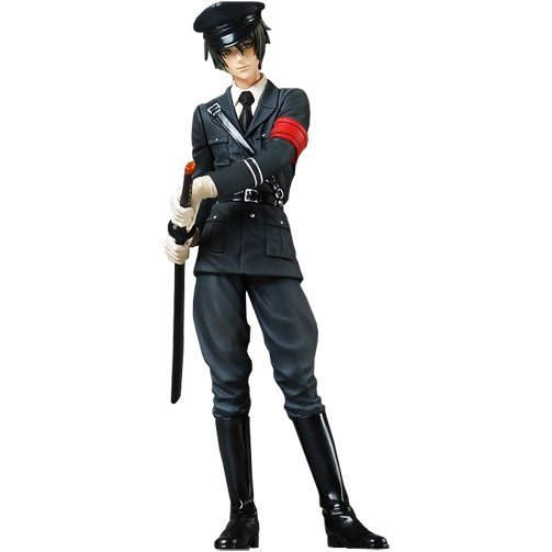 Togainu no Chi: True Blood 1/10 Pre-Painted PVC Figure: Aikra (Military Version)