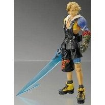 Final Fantasy X Play Arts Pre-Painted Action Figure: Tidus