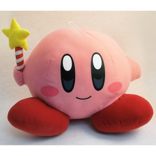 Super DX Stuffed Animal 2 Kirby Adventure Plush Doll Kirby Type A