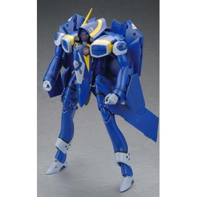 Macross Plus 1/60 Scale Pre-Painted PVC Figure: Perfect Transformation YF-21 (Re-run)
