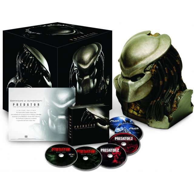 Predator Ultimate DVD Collection [Predator Head Limited Giftset]
