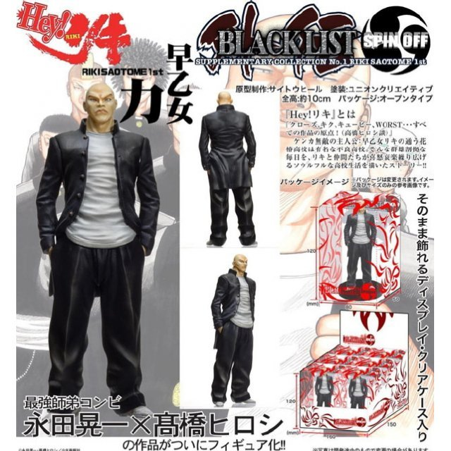Hey Riki Black List Spin Off Side Story Collection No.1 Non Scale Pre-Painted Figure: Saotome Riki