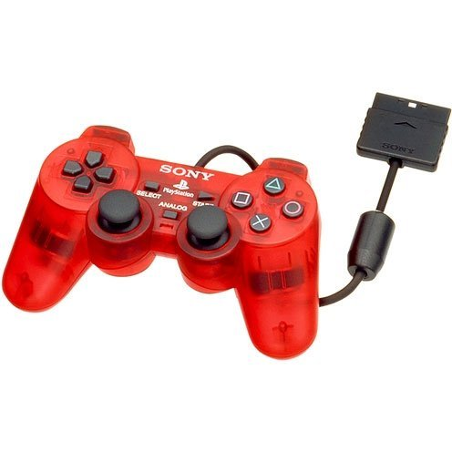 Dual Shock 2 Controller (Crimson Red)