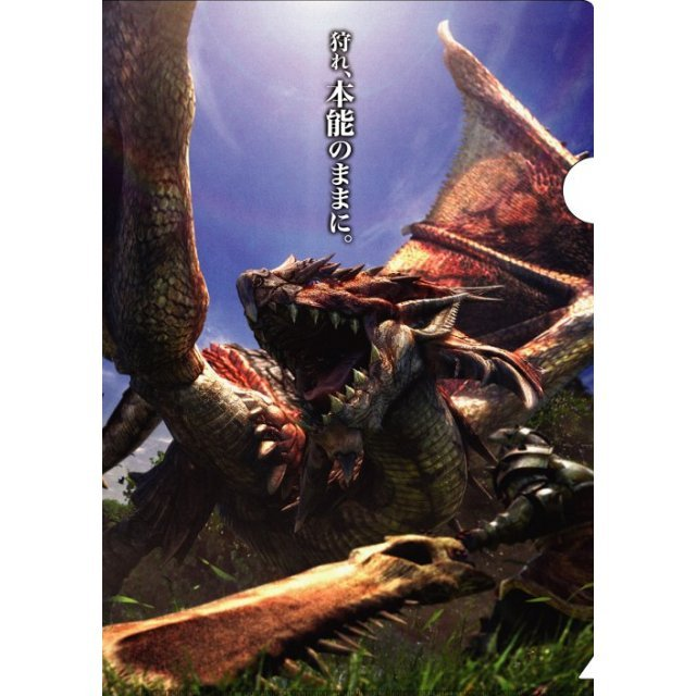 Monster Hunter Plastic Folder