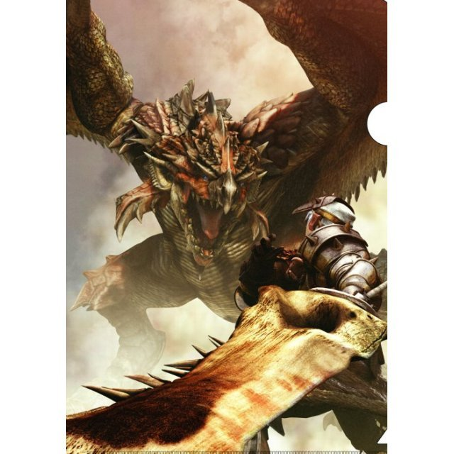 Monster Hunter Portable Plastic Folder