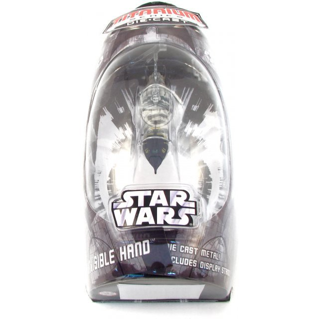 Titanium Series Star Wars Pre-Painted Diecast Model: Invisible Hand