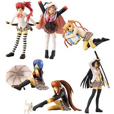 DX Little Busters Non Scale Pre-Painted PVC Trading Figure