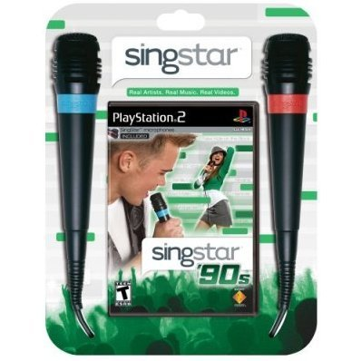 Singstar 90's with 2 Microphones
