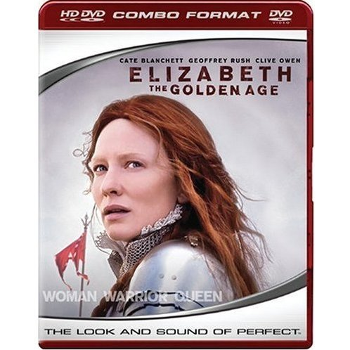 Elizabeth: The Golden Age (HD DVD + DVD Combo Format)
