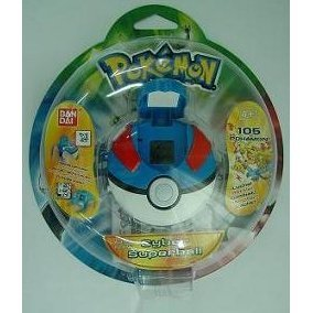 Pokemon Cyber Super Ball (Blue)