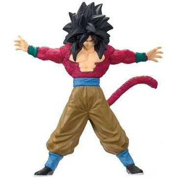 Dragon Ball GT Super Saiyan 4 Pre-painted PVC Figure: Son Gokou