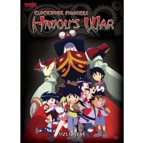 Clockwork Fighters: Hiwou's War Vol. 3