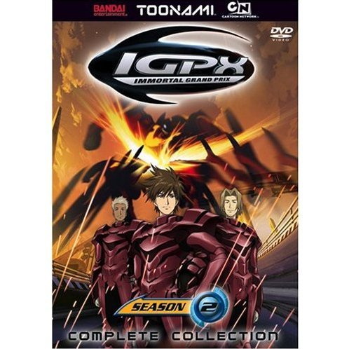 IGPX Complete Collection Season 2 Toonami