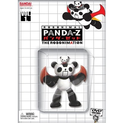 Panda-Z The Robonimation Vol 1 (w/ Figure)
