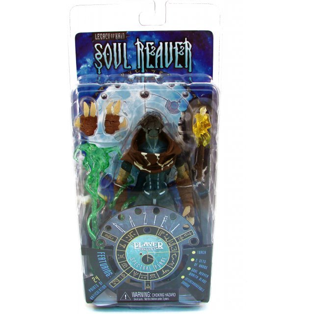 Player Select Legacy of Kain: Soul Reaver Pre-Painted Action Figure: Spirit World Raziel
