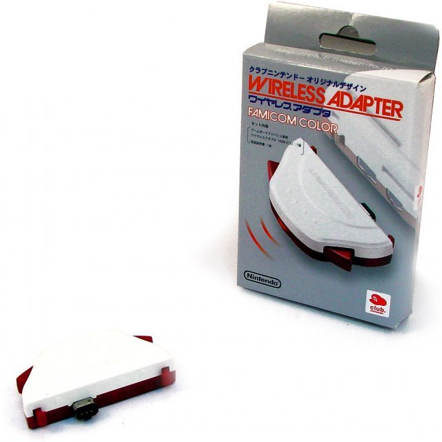 Wireless Adapter - Famicom Color [Club Nintendo Limited Edition]
