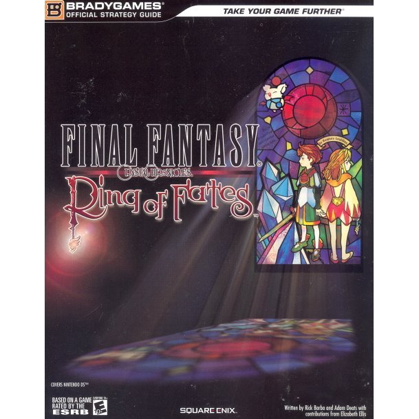 Final Fantasy: Crystal Chronicles - Ring of Fates Official Strategy Guide