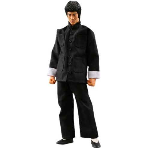 Real Action Heroes Pre-Painted Figure: Bruce Lee