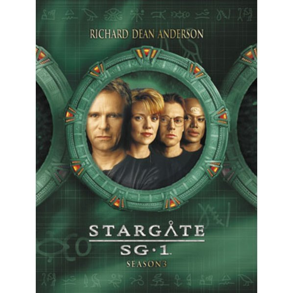 Stargate SG-1 Season3 DVD The Complete Box