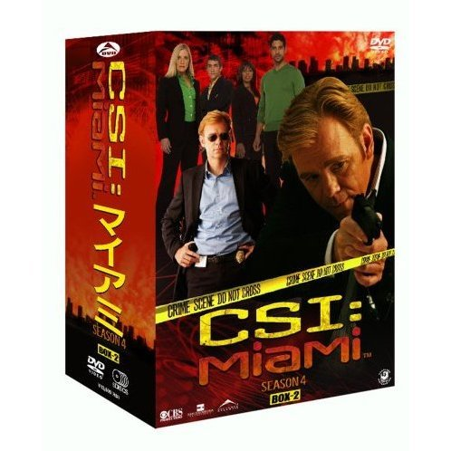 CSI: Miami Season4 Complete DVD Box 2