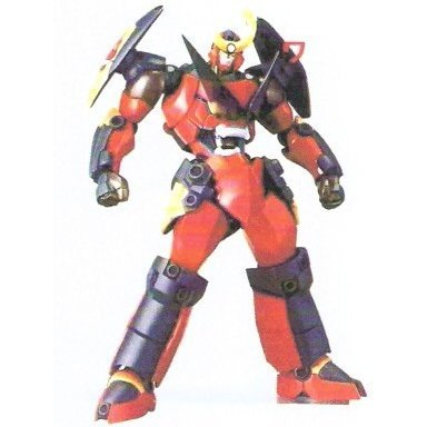 Revoltech Series No. 050 - Gurren Lagann Non Scale Pre-Painted PVC Action Figure: Gurren Lagann