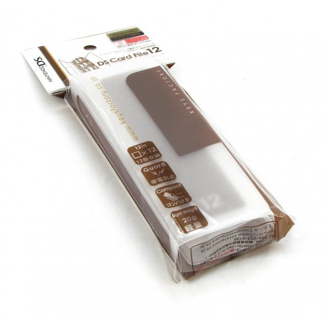Card File 12 (Chocolate)