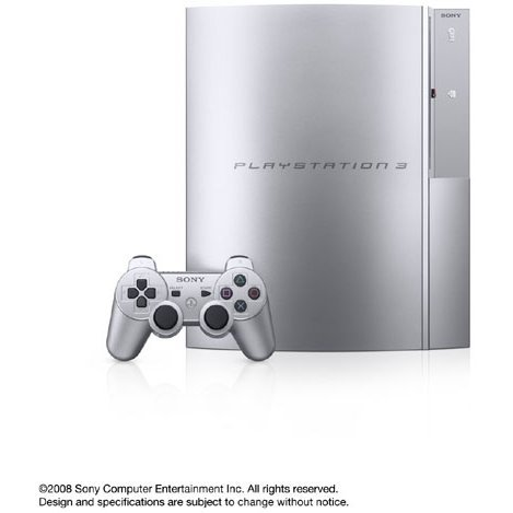 PlayStation3 Console (HDD 40GB Model) Satin Silver - 110V