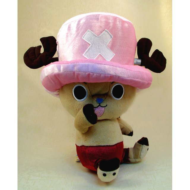 One Piece 10th Anniversary Super DX Plush Doll: Chopper Type A