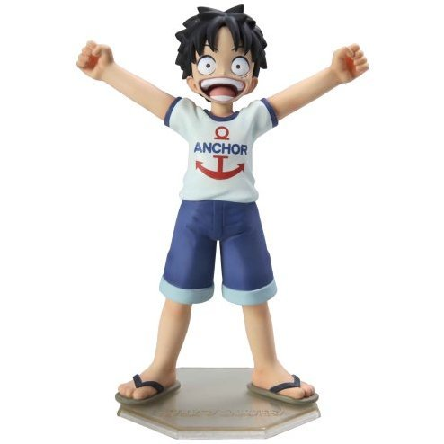 Excellent Model One Piece Portraits of Pirates P.O.P. CB-1 1/8 Scale Pre-Painted Figure: Luffy (Kid Version)