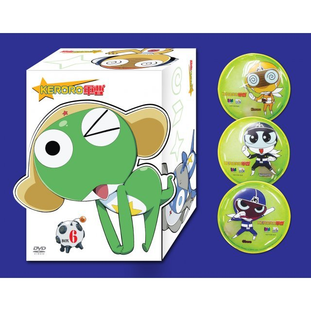 Keroro Limited Boxset 6 [Vol. 104-119]