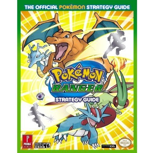Pokemon Ranger: The Road to Diamond and Pearl Prima Official Game Guide