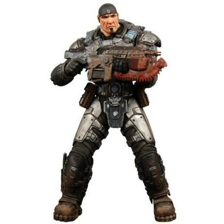 Gears of War Series 1 Pre-Painted Action Figure: Marcus Fenix